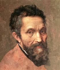 Portrait du peintre italien Michel-Ange