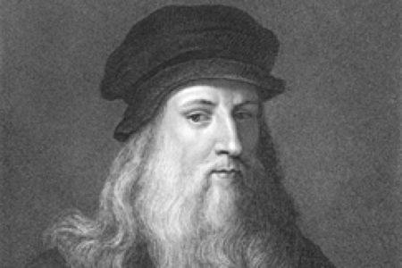 Le célèbre peintre italien Léonard de Vinci